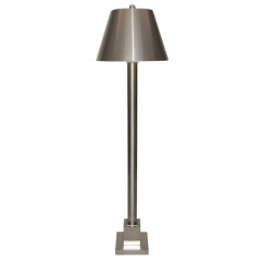 MAISON CHARLES FLOOR LAMP - STEEL