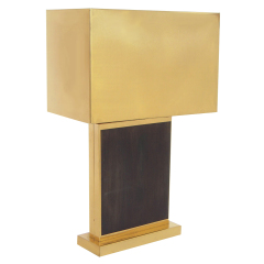 C. JERE BRASS TABLE LAMP