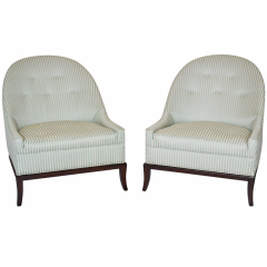T. H. Robsjohn Gibbings Slipper Chairs